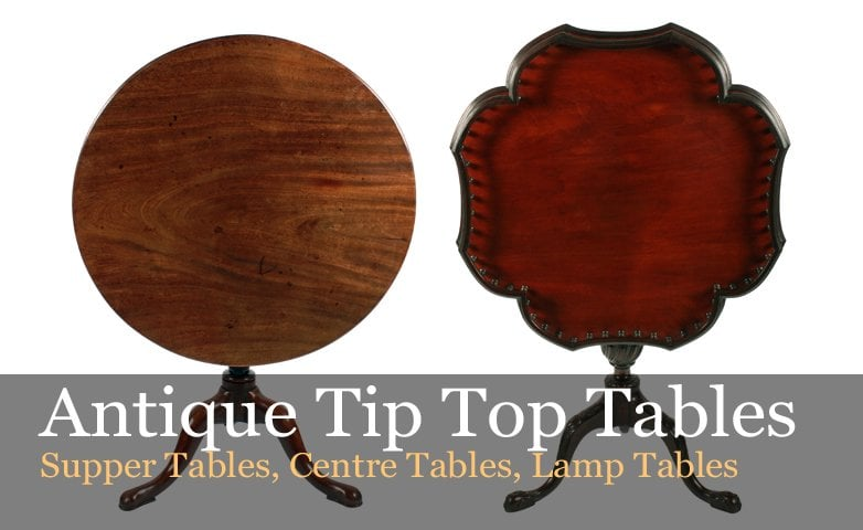 Antique Tip Top Tables