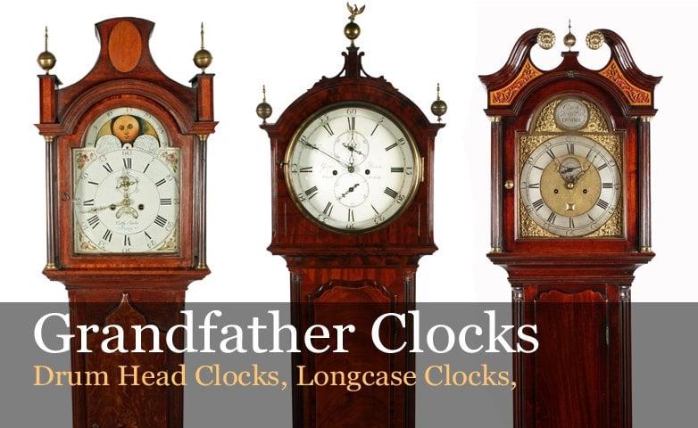 Antique Grandfather Clocks