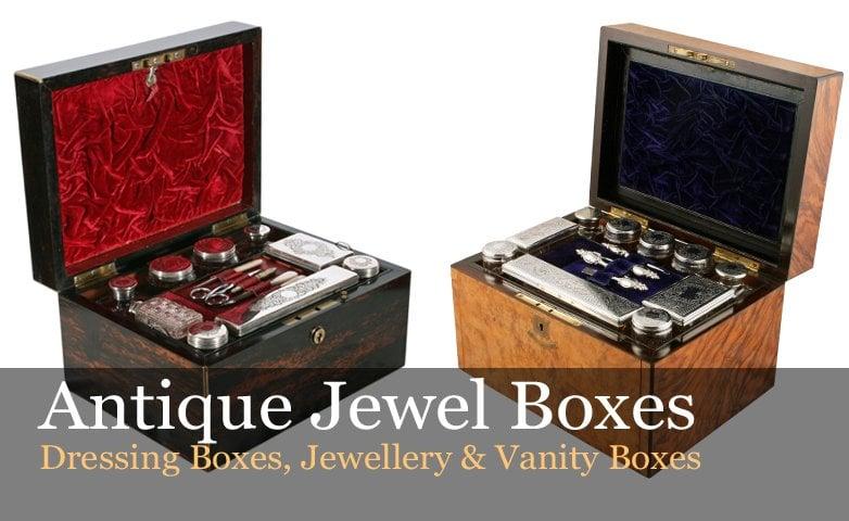 Antique Jewellery Boxes