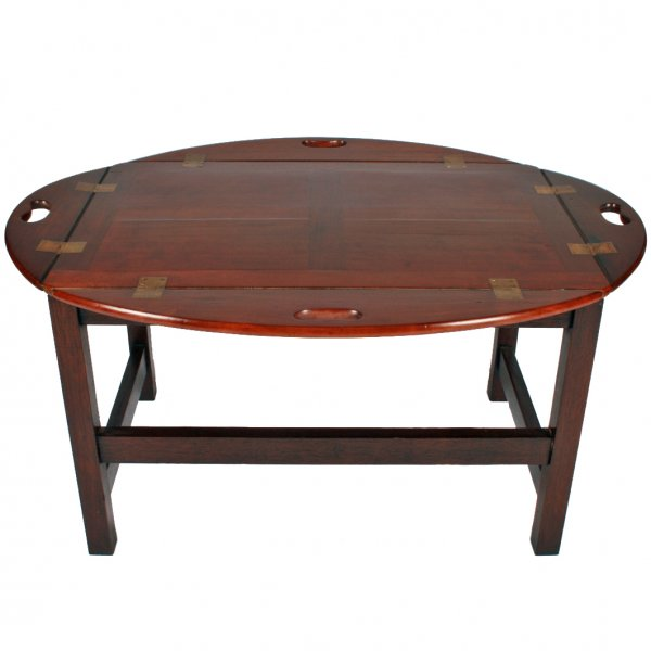 Vintage Butler Coffee Table: Butlers Tray Coffee Table