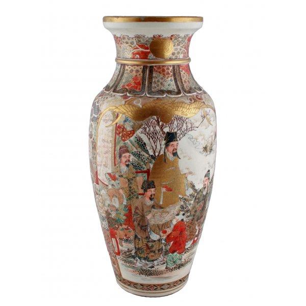 Japanese Satsuma Vase Antique Satsuma Vase Japanese Satsuma