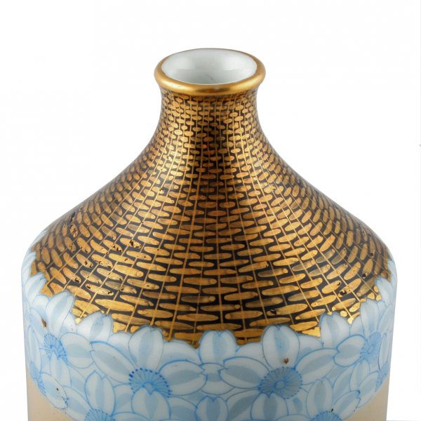 Antique Japanese Porcelain Vase Japanese Yokohama Imura Vase