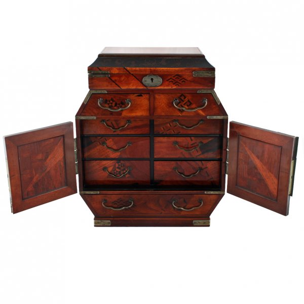 ... Two Japanese Table Cabinets ...