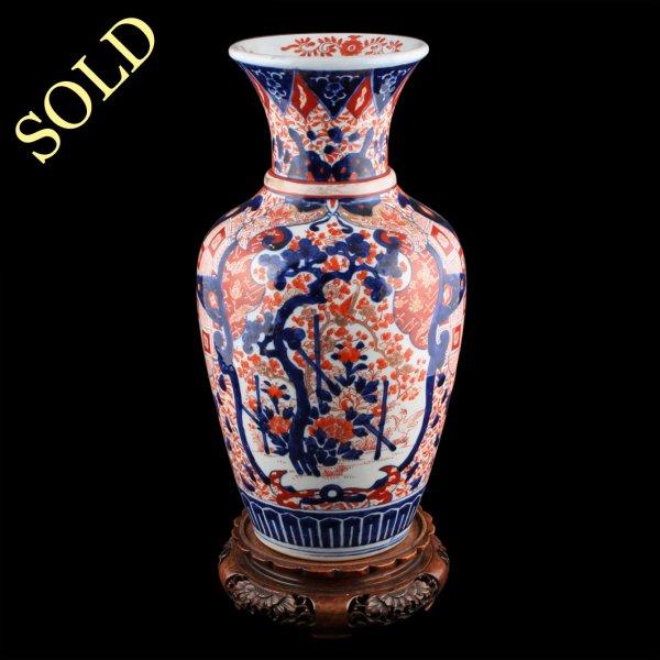 Antique Imari Vase Japanese Imari Porcelain Vase