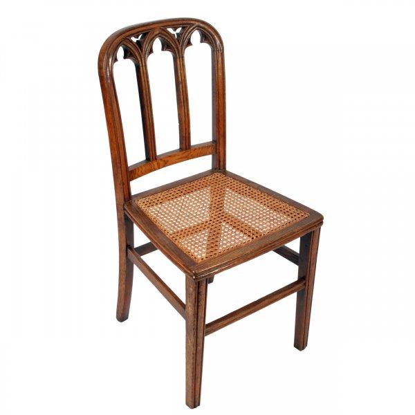... Six Victorian Gothic Oak Chairs ... - Antique Gothic Chairs Six Victorian Oak Chairs