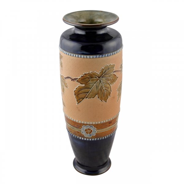Royal Doulton Pottery Vase Doulton Vase By Frank Butler