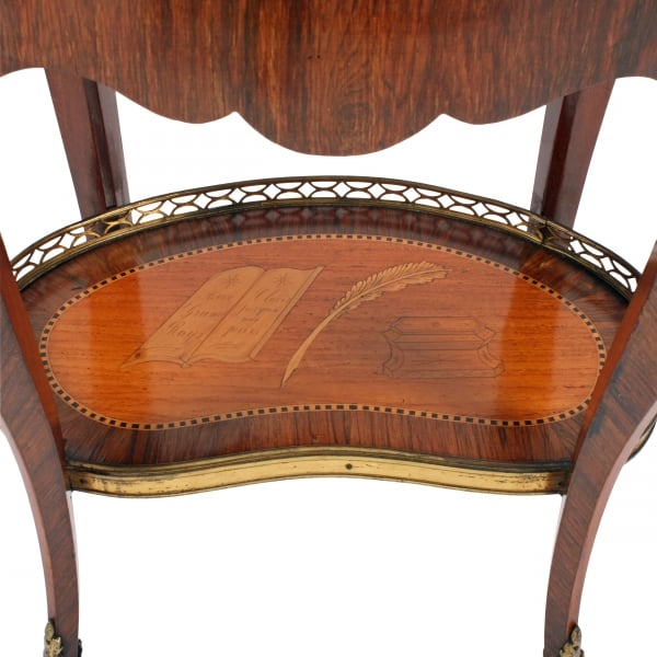 ... French Marquetry Inlaid Cabinet ...
