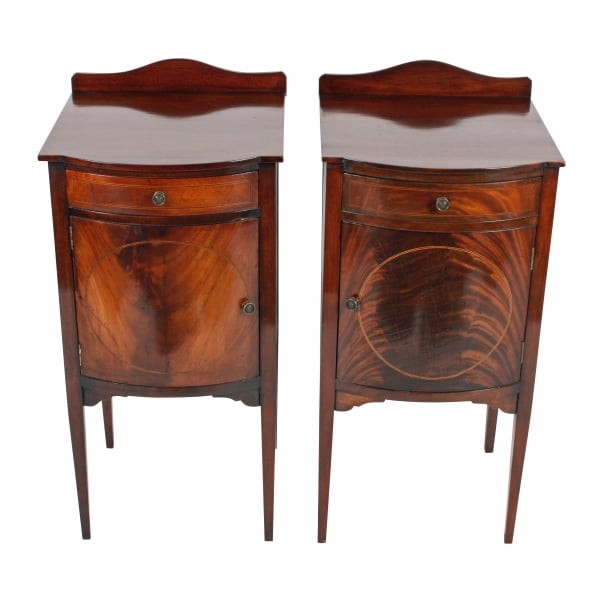 ... Pair of Edwardian Bedside Cabinets ... - Antique Bedside Cabinets Pair Of Bedside Cabinets