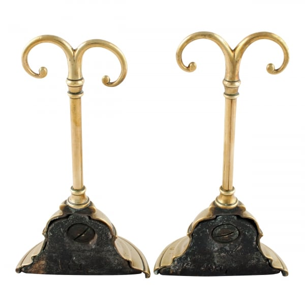 ... Pair of Brass Door Stops ... - Pair Of Antique Door Stops Victorian Brass Door Stops