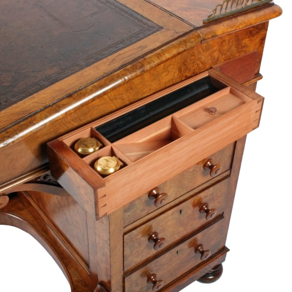 ... Victorian Davenport By Holland & Sons SOLD ... - Antique Davenport Desk Victorian Walnut Davenport