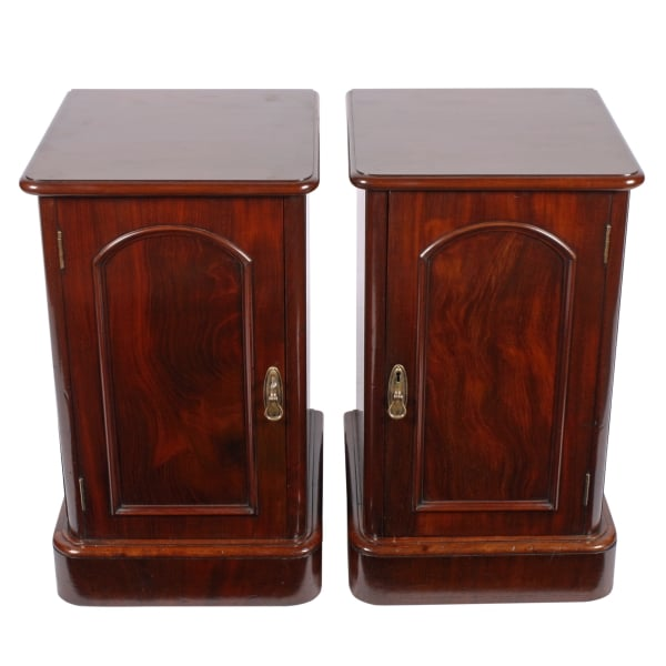 ... Pair of Victorian Bedside Cabinets ... - Antique Bedside Cabinets Pair Of Victorian Bedside Cabinets