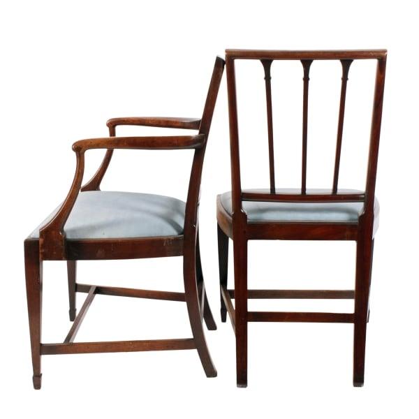 ... Set Of Six 18th Century Hepplewhite Chairs ...