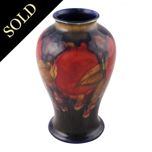 Moorcroft Pottery Vase Moorcroft Pomegranate Vase