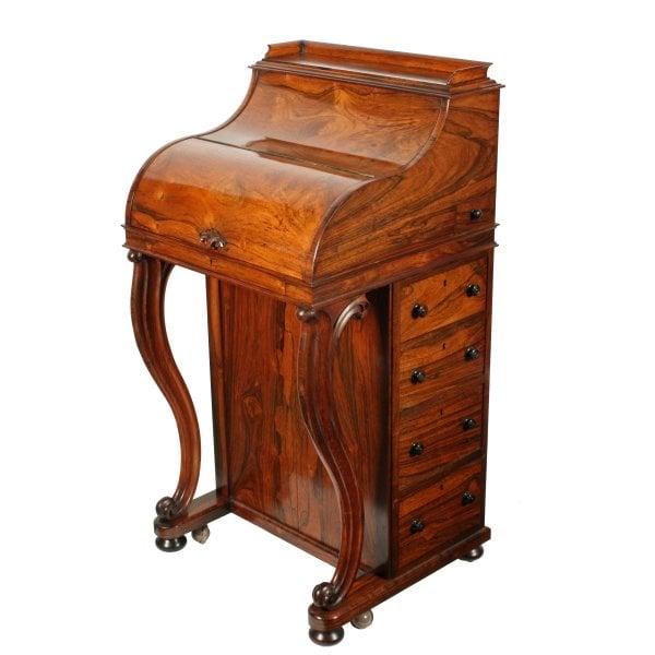 ... Rosewood Piano Top Davenport Desk SOLD ... - Antique Davenport Desk Piano Top Rosewood Davenport