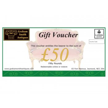 Graham Smith Antiques £50 Gift Voucher