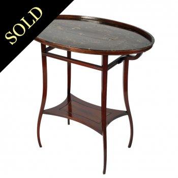 Gillows Chinese Table on Stand