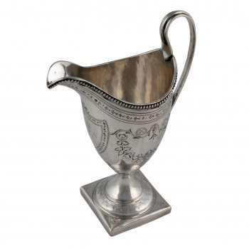 Georgian Sterling Silver Cream Jug