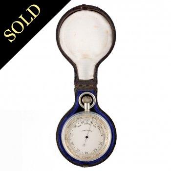 Victorian Compensated Pocket Barometer