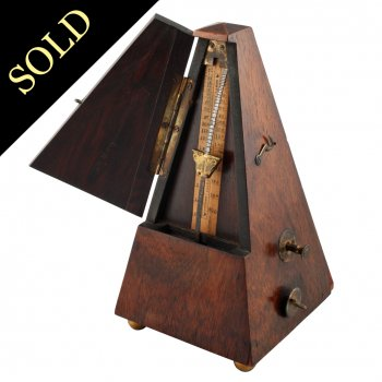19th Century Rosewood Cased Metronome