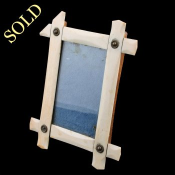 Victorian Ivory Photo Frame