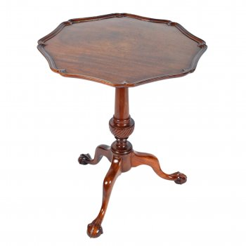 Georgian Style Shaped Top Table
