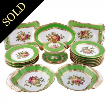 Early Spode Dessert or Fruit Service
