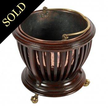 Victorian Coal Basket & Bucket