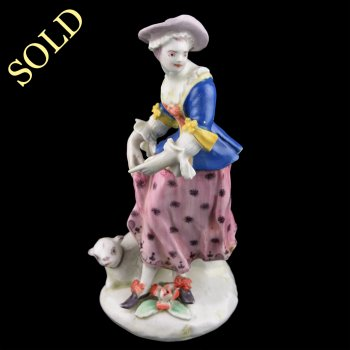 18th Century Bow Porcelain Figure