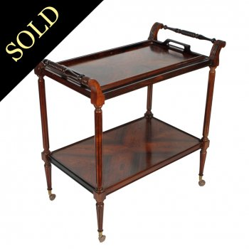 20th Century Rosewood Tea Trolley