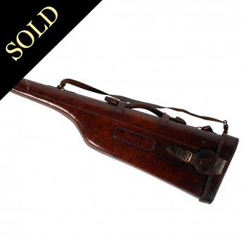 Edwardian Leather Gun Case