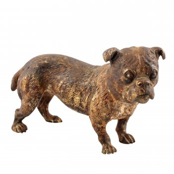 Austrian Cold Painted Bronze Terrier