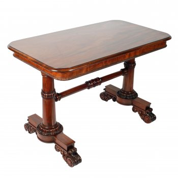 George IV Mahogany Library Table SOLD