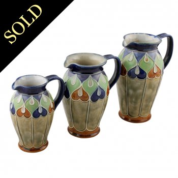 Set of Three Royal Doulton Jugs