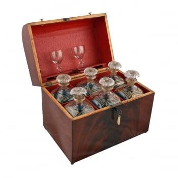 Dutch Mahogany Decanter Box