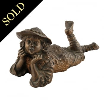 Bronze Figure of a Boy