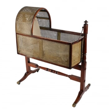 Regency Mahogany Rocking Cradle