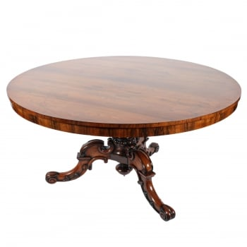 Victorian Rosewood Breakfast Table