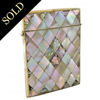 Mother of Pearl Card Case