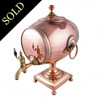 Regency Barrel Shaped Samovar