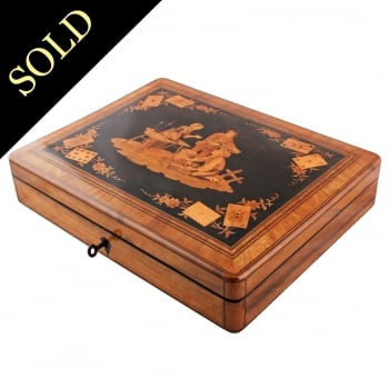 Fine Sorrento Marquetry Box