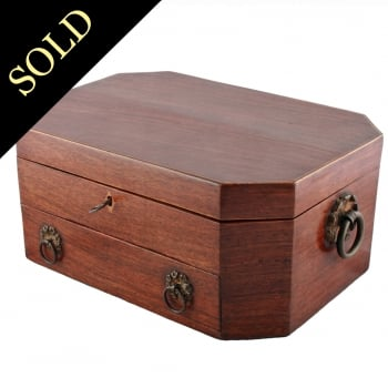 19th Century Regency Sewing Box