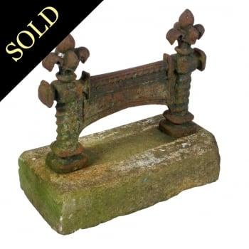 Victorian Iron Boot Scraper