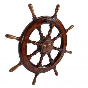 19th Century Ship's Wheel SOLD