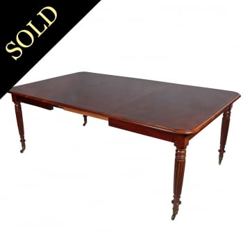 Gillows Mahogany Dining Table