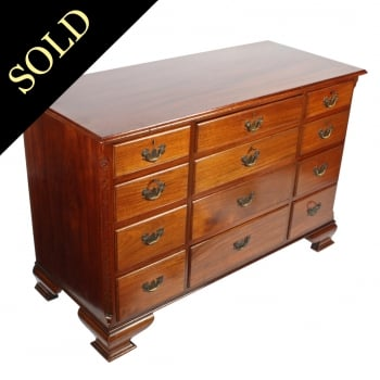 Chippendale Style 12 Drawer Chest