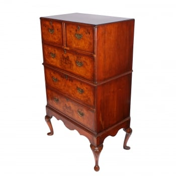 18th Century Style Walnut Chest