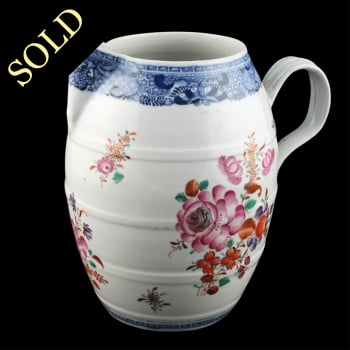 18th Century Chinese Export Jug