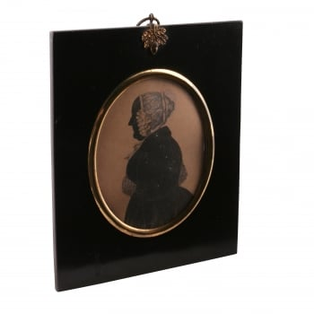 Victorian Silhouette of a Lady