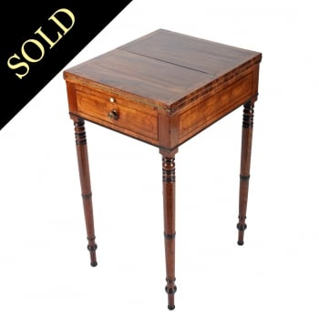 Regency Mahogany Patience Table