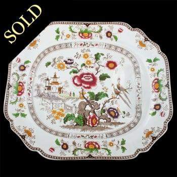 Ridgeway Pottery Meat Plate